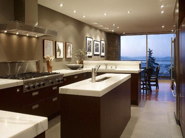 Contemporary Kitchen by Geoffrey De Sousa Interior Design