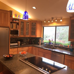 Scotts Valley, CA. Kitchen Traditional Remodels