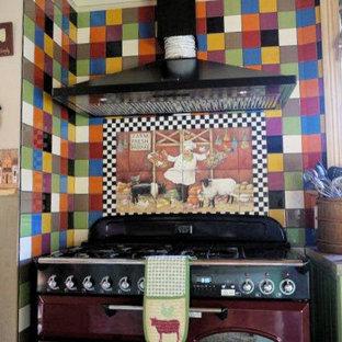 Eclectic kitchen photo in Phoenix
