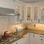 Woodecor Transitional Country Home Cabinetry - Traditional ...