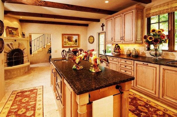 Mediterranean Kitchen by Debra Campbell Design