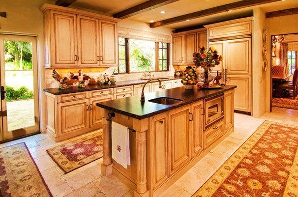 Rustic Kitchen by Debra Campbell Design