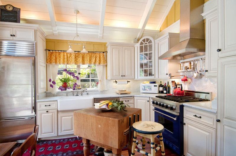 Inspiring Ideas for Vintage Kitchen Islands, Via Houzz.com