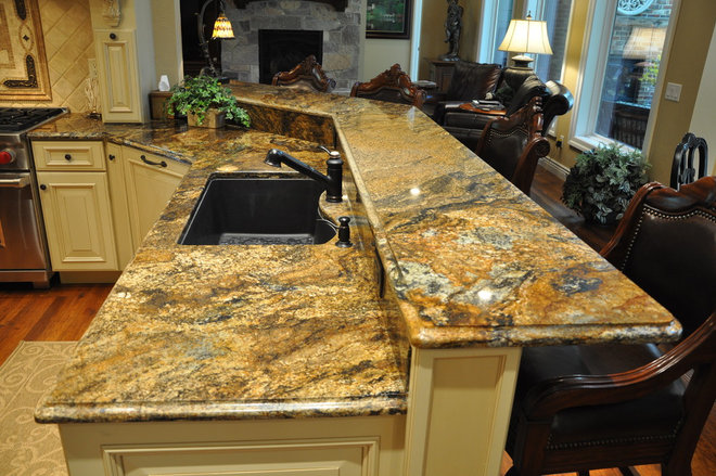Traditional Kitchen Countertops by Madison Block & Stone