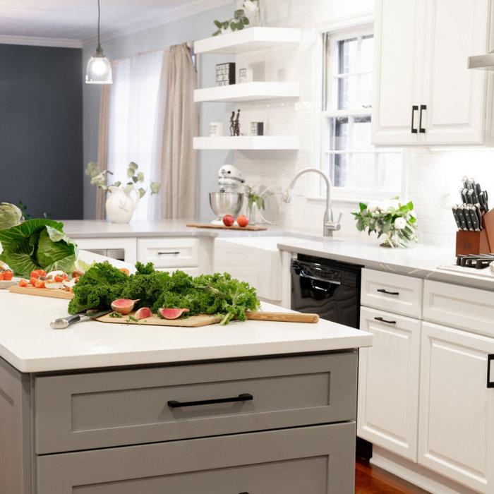 Modern and Fresh Farmhouse Kitchen