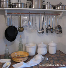 eclectic kitchen by Decor Made Simple