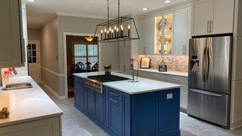 Decora Blue Kitchen