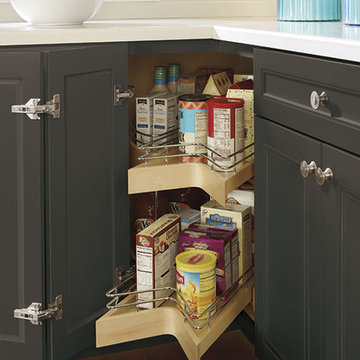 Decorá Cabinets: Lazy Susan Pull-out Cabinet
