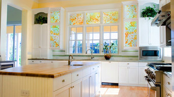 Decorative Glass for Windows and Cabinets