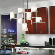 contemporary kitchen lighting and cabinet lighting by Kichler