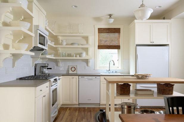 Contemporary Kitchen by Erotas Custom Building