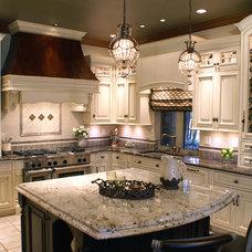 Traditional Kitchen by Edmond Kitchen & Bath LLC