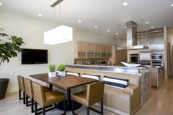 Contemporary Kitchen by Handman Associates