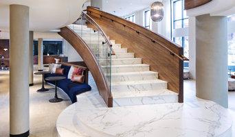 Dekton Staircase Custom Built for High Traffic Flooring