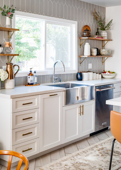 Transitional Kitchen by M Prevost Design