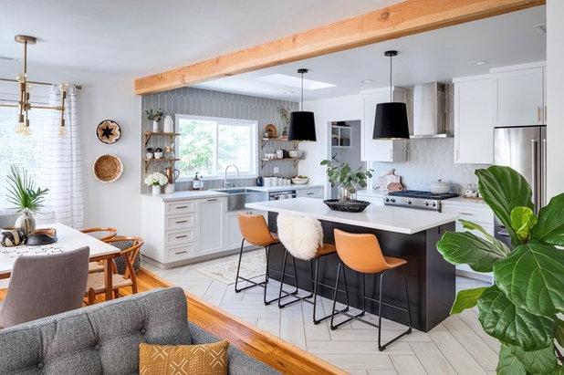 Современная классика Кухня by M Prevost Design