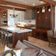 Beach Style Kitchen by Laura Kehoe Design