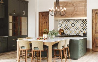 Mediterranean-Style Kitchen Gets a Bold Makeover
