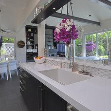 Contemporary Kitchen by DRP International Design, Inc.