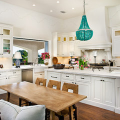 mediterranean kitchen by laura_rosenthal