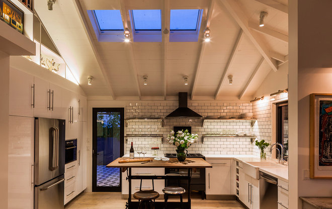 Eclectic Kitchen by Lori Smyth Design