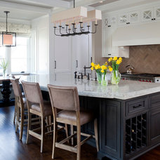Transitional Kitchen by Cahill Design Build