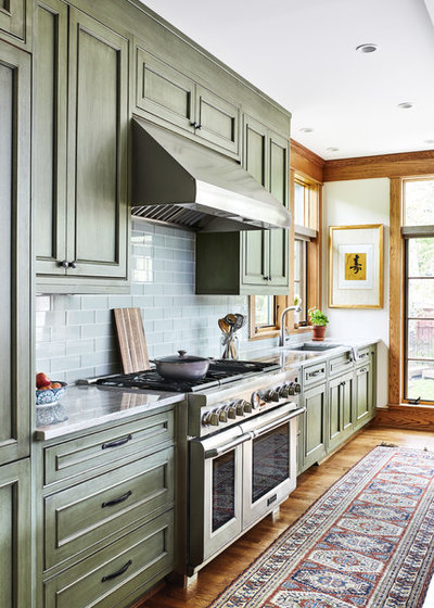 Craftsman Kitchen by WINN Design+Build