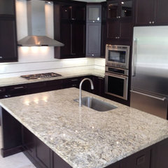 modern kitchen by NMB Custom Homes and Renovations, LLC