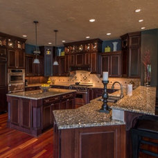 Mediterranean Kitchen by Signature Custom Homes