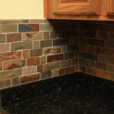 Traditional Kitchen by garden state tile