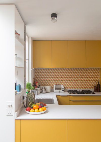 What Colour Should I Paint My Front Door Contemporary Kitchen By R2 Studio Architects