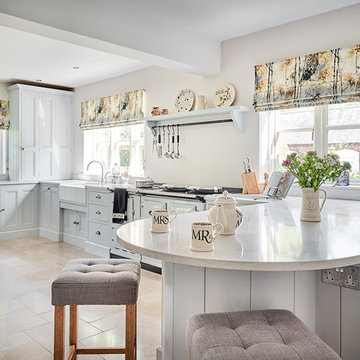 Delicate and Dainty - Clean and Crisp Kitchen