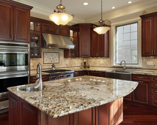 Marvelous Inspiration For A Timeless L Shaped Eat In Kitchen Remodel In Philadelphia  With A