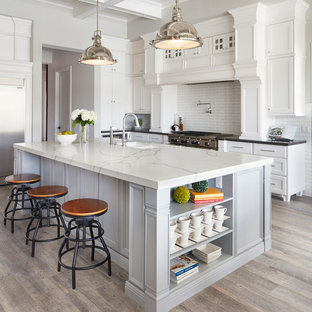 75 Beautiful Traditional Gray Kitchen Pictures U0026 Ideas | Houzz