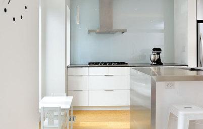 Salpicaderos de cocina: 13 materiales prácticos que te encantarán