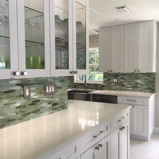 75 Beautiful Beige Terrazzo Floor Kitchen Pictures Ideas