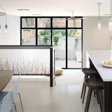 Modern Kitchen by Delson or Sherman Architects pc