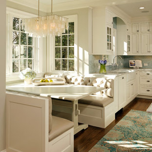Design ideas for a traditional eat-in kitchen in DC Metro.