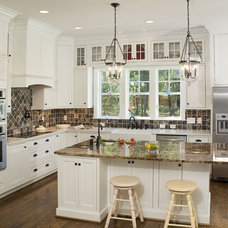 Traditional Kitchen by Shoreline Cabinet Company
