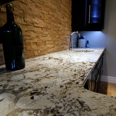 Traditional Kitchen by Stone Source Tile Source intl