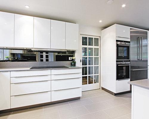 Light Grey Kitchen Floor light gray tile floor | houzz