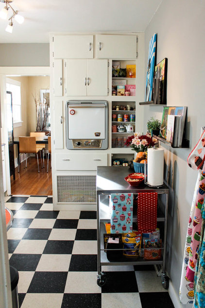 eclectic kitchen by Lauren Mikus