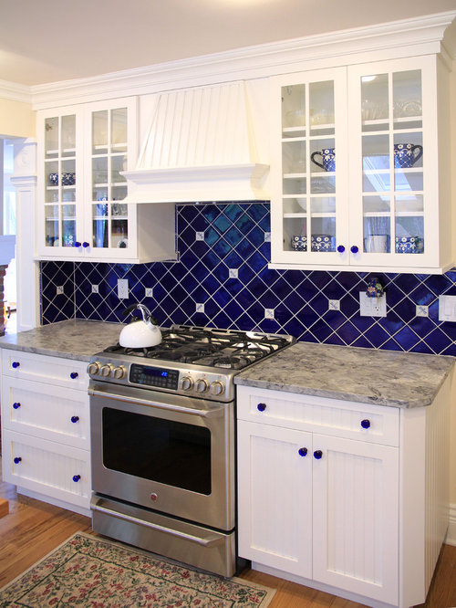 Blue Tile Backsplash Ideas, Pictures, Remodel And Decor