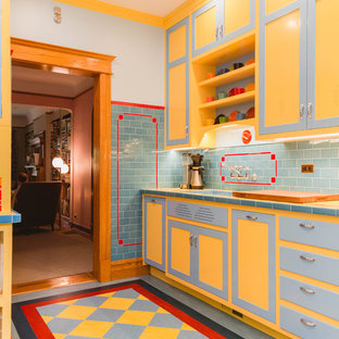Depression-Era Art Deco Style Inspires a Chicago Kitchen
