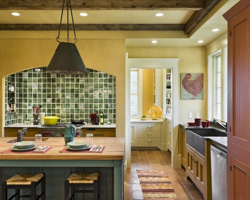 rustic kitchen designs inspiration for a rustic kitchen remodel in burlington with a farmhouse sink