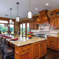 Traditional Kitchen by The Cabinet Boutique
