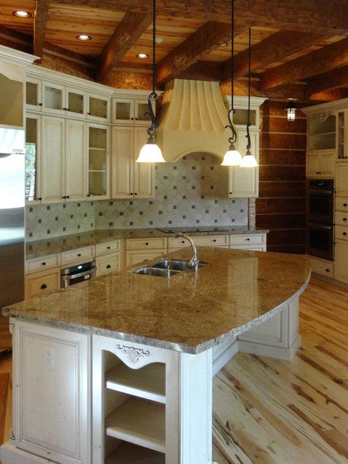 Desert Amarillo Granite Kitchen Countertops In Forest Highlands