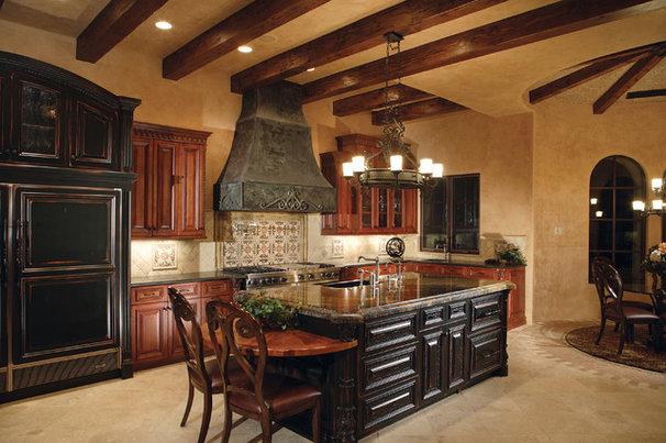 Mediterranean Kitchen by BedBrock Developers, LLC