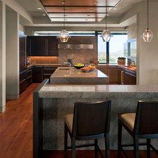Contemporary Kitchen by David Michael Miller Associates