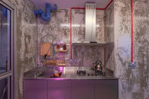 Eclectic Kitchen by ERStudio Pte Ltd